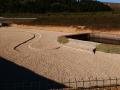 vasca stoccaggio e decantazione in terre rinforzate 1